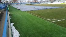 Rekonštrukcia štadiona v Michalovciach