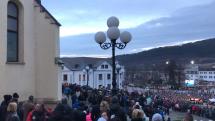 Protivládne demonštrácie v Žiline