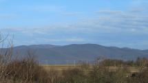 Ranný pohľad na Slanské vrchy