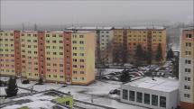 sneženie v Poprade, 15.3.2018, ráno