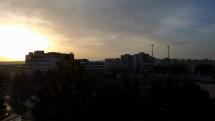 Východ Slnka v Košiciach