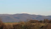 Pohľad na Slanské vrchy