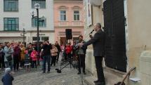 Za slušné Slovensko, vystúpenie arcibiskupa Róberta Bezáka