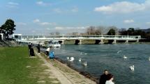 Piestany, pri Kolonadovom moste