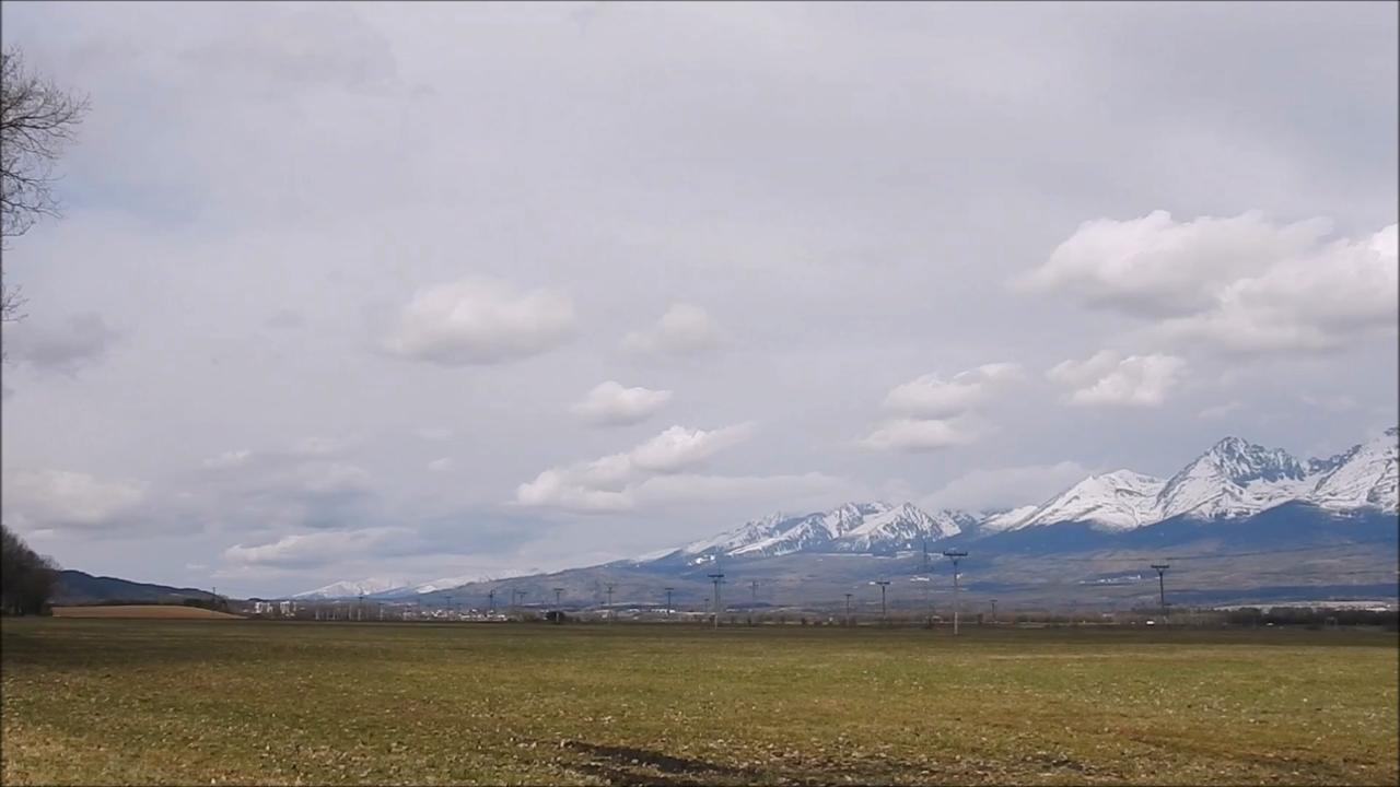 Tatry zo Spišskej Teplice