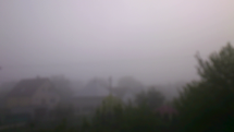 ranné počasie v obci Horné Lefantovce