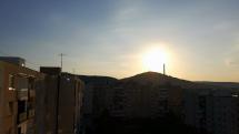 Východ Slnka v Snine