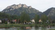 Plte na rieke Dunajec - Červený Kláštor