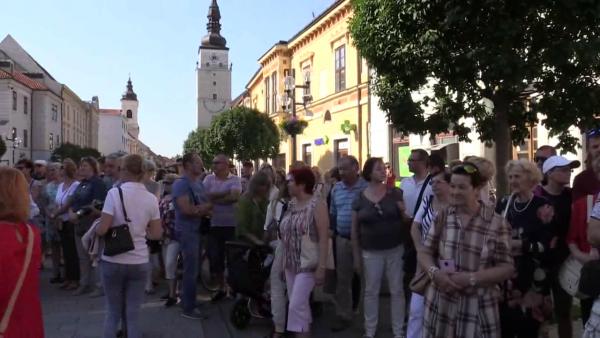 RETRO KORZO 2018: Centrum Trnavy ožilo ruchom starých dobrých čias