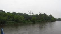 Upršaná rieka Morava - Vysoká pri Morave