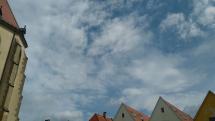 V Bardejove kopovité mraky