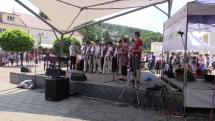 Folklórne podujatie v Trenčianskych Tepliciach