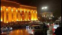 Demonštrácie v Tbilisi, Gruzínsko 3