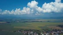 Oblačnosť nad Slanským pohorím