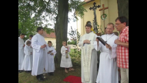 Slavnost Božího těla ve Dvorech nad Lužnicí, uctívání manželství a rodiny
