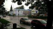 Tak pršalo v Medzilaborciach