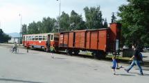 Historický vlak na Ružomberku