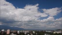 Tatry z Popradu - dnes - 11.6.2018 o 13,20 hod.