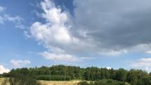 Obloha nad Levočou.