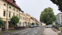 Daždivé dopoludnie v Levoči.