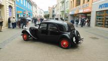 Zraz historických vozidiel