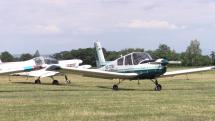 Zlet československých lietadiel na letisku Boleráz