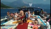 Plavba loďou v Turecku