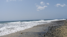 Fotogenické pobrežie Atlantického oceánu - Gran Canaria - Playa de Inglése