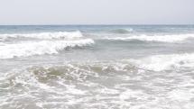 Pobrežné vlny na pláži - Gran Canaria - Playa de Inglése