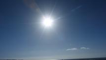 Pláž - Playa de Inglése -  zaliatá slnkom - Gran Canaria - Kanárske ostrovy