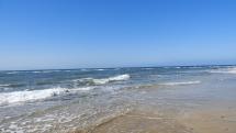 Ľoď brádziaca oceánske vlny - Gran Canaria