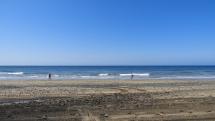 Gran Canaria . Maspalomas - piesok zo Sahary a piesočné duny