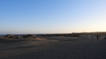 Maspalomas - Gran Canaria - Saharské piesočné duny