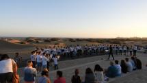 Zvláštny štyl hudby hudobníkov  - Maspalomas - Gran Canaria