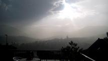 Búrka pod Inovcom