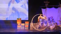 Ohliadnutie za Národným stretnutím mládeže - Šikovný akrobat