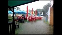 Kúpanie v daždi
