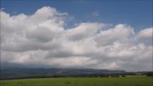 oblačnosť nad Tatrami od Važca