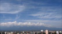 oblačnosť v okolí Popradu, dnes -13.9.2018, o 13,45 hod.