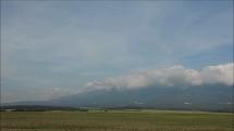 17.9.2018, oblačnosť v okolí Tatier - z Popradu