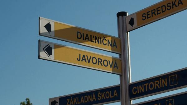 PROTEST OBČANOV V TRNAVE: Zábery nákrútil Viliam Procházka