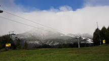 Tatranská Lomnica - zima už dorazila