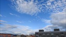 ranná oblačnosť nad Popradom - 27.9.2018