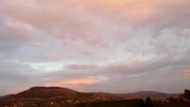 Ranné zore nad Pohronským Inovcom
