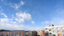 časozber oblačnosti nad Popradom, dnes medzi 10.oo a 10,45 hod.