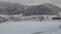 Dedinky - jediná obec so snehom
