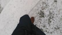 Dnes snežilo už od rána (2/2)