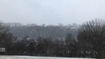 Sneženie Mlynská dolina
