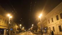 Novoročný ohňostroj Prešov námestie