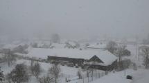 Snehová kalamita - Spišská Magura
